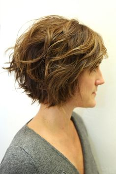 The hairstyle is featured by wicked layers all over jagged or razor cut to get maximum texture.