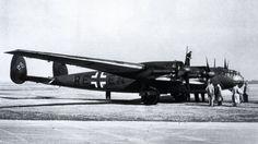"""Messerschmitt Me 264V-1 """"Amerika bomber"""" #Luftwaffe #Wehrmacht October, 1943."""