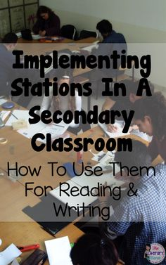 Stations are an excellent opportunities for incorporating movement and…