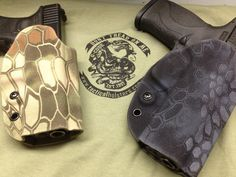 Kydex kryptek glock and m&p holster Tactical Holster, Gun Holster, Tactical Gear, Holsters, Hydro Dipping, Camouflage Patterns, Tac Gear, Military Gear, Survival Gear