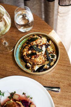 Kara Rosenlund - Gourmet Traveller Magazine - www. Restaurant Photos, Restaurant Recipes, Luxury Restaurant, Food Photography Styling, Food Styling, Chef Recipes, Wine Recipes, A Food, Food And Drink