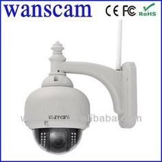 Outdoor Pan/Tilt/Zoom Wireless IP Camera with 15 Meter Night Vision and Lens Video Surveillance Cameras, Surveillance Equipment, Surveillance System, Ptz Camera, Wireless Ip Camera, Dome Camera, Camera Reviews, Home Security Systems, Security Tips