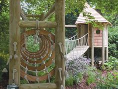 Image result for diy outdoor play structures