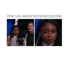 Guys go watch Normani and Val Monday nights at 8pm on DWTS. You can vote for them right after too 1-800-868-3410 IG: its5Hpride_ Pinterest: @ Kayla5H Fifth Harmony, When Someone, Funny Moments, Hamilton, Comedy, Hilarious, Notes, Facts, Babies