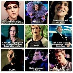 I love how each character has a sassy moment in the movie. It's hilarious.