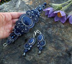 Soutache Soutache Bracelet, Soutache Jewelry, Boho Jewelry, Beaded Jewelry, Jewelery, Handmade Jewelry, Beaded Necklace, Ring Necklace, Tassel Earrings