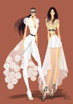Figurines de modas de Eduardo Meliá                                                                                                                                                                                 Más