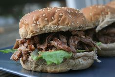 Recipe Shoebox: Root Beer Pulled Pork Sandwiches