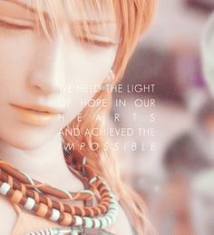 Final Fantasy XIII - Vanille (found in the morning time, but technically found in the afternoon. Final Fantasy Quotes, Final Fantasy Female Characters, Final Fantasy 3, Fantasy Series, Fantasy World, Fantasy Art, Nerd Love, Heart Art, Kingdom Hearts