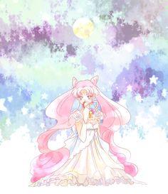 girlsbydaylight:  一人前のレディに/セーラームーン by ぽるにゃ on pixiv