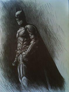 Cool #Batman drawing.
