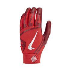 sports shoes 0ebdb ab635 Nike Huarache Elite Baseball Batting Gloves Size 2XL (University Red)