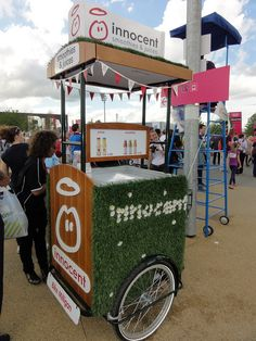 INNOCENT DRINKS (Best): These mini-kiosks selling smoothies inside the Olympic Park were great for branding, and offered a welcome alternative to long food queues ... not to mention that this was one of the rare healthy food options inside the Olympic Park.