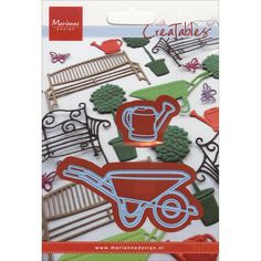 Ecstasy Crafts Marianne Designs Creatables Die-Wheelbarrow & Watering Can