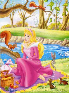 Photo of Princess Aurora for fans of Disney Princess 6332960 Princesa Disney Aurora, Disney Princess Aurora, Princess Mural, Princess Drawings, Sleeping Beauty Art, Iron Man Cartoon, Manga Anime, Kids Cartoon Characters, Disney Cards