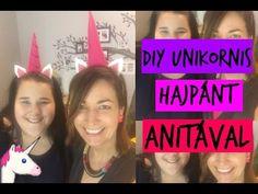 DIY Unikornis hajpánt készítés Csorba Anitával | Magyar Barbara - YouTube