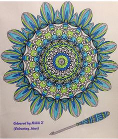 From Collette Fergus lace doilies book done in fineliners