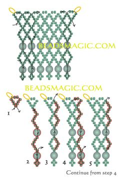 Free pattern for necklace Ranna