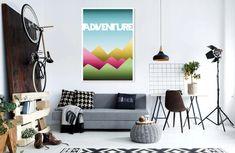 PLAKAT - ADVENTURE - A3 Plakat to idealna forma do zmiany, zmiany i dekoracji naszych wnętrz. Każdy z nas chce mieć oryginalny i niepowtarzalny dodatek, który urozmaici Twoje cztery ściany. Mogą być również niecodziennym pomysłem na prezent dla naszych bliskich. Papier: 300g - kredowy Wymiary obrazka: A3 - 297 x 420 mm. Poster, decoration, home decor, gift, for loved ones, modern, colorful