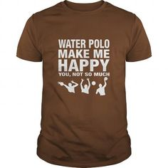 Awesome Tee Water POLO Make Me Happy Tshirt Shirts & Tees