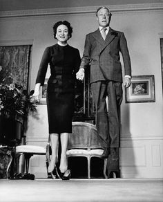 The Duke and Duchess of Windsor (mid-jump!), photographed by Philippe Halsman.