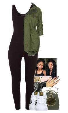 """Untitled #1521"" by toniiiiiiiiiiiiiii ❤ liked on Polyvore featuring Michael Kors, Prada, Armitage Avenue, adidas and Topshop"