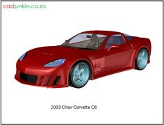 3D Vehicle: 2003 Chev Corvette C6 CAD Format: AutoCAD 2013 Block Type: 3D Mesh Units: mm Autocad, 3d Mesh, 3d Cad Models, Cad Blocks, Corvette, 3 D, The Unit, Type, Vehicles
