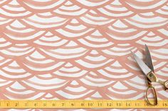 Watercolor Scallops by Liz Conley at minted.com