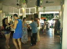 Free salsa class before the party, 16 Sep'16