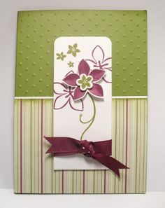 Cottage Garden Card Class: 2nd May 2010 | Simone Bartrum, Stampin' Up! Australia