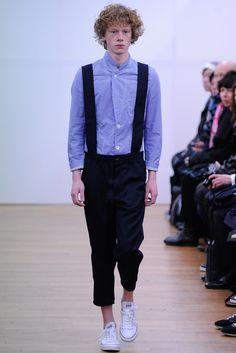 Comme des Garçons Shirt - Fall 2015 Menswear - Look 5 of 44
