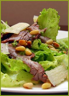 Cilantro Caesar Salad with Carne Asada  Nov 1st, 2006    Herbs and Spices  Main Courses  On the Grill  Side Dishes