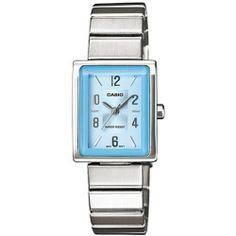 Casio Women's Core LTP1355D-2A Silver Stainless-Steel Quartz Watch