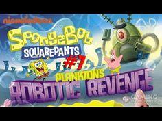 Spongebob Squarepants Game Full Episodes 8 - Plankton's Robotic Revenge ...