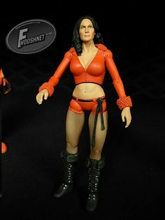 ToyWiz Company Unreleased TNA Wrestling Traci Brooks #∆∆shani