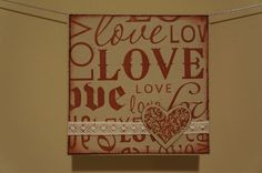 Love Card for Valentine's Day on Etsy, $3.00