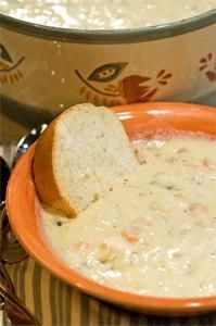 Williamsburg Inn Turkey Soup - as featured in our Oct./Nov. 2008 Tennessee Cooperator magazine.