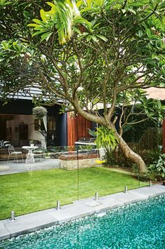backyard paradise: take a look at this Bali inspired garden