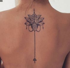 Mandala tattoo meaning and patterns that inspire you tatoo feminina - tattoo feminina delicada - tat Mandala Tattoo Meaning, Lotus Mandala Tattoo, Mandala Tattoo Design, Lotus Tattoo Back, Butterfly Back Tattoo, Flower Tattoo Back, Mini Tattoos, Body Art Tattoos, Small Tattoos