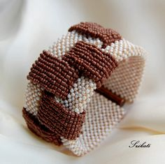 RAW with herringbone - bead crochet ropes instead ??