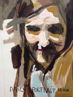 W.DECHANT - 3.9.2014 - 62 x 89 cm - acrylic / canvas - NEXT TOMORROW