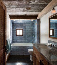 "641 Likes, 5 Comments - Interior. Desing. Landscape (@indesland) on Instagram: ""#interiordesign #design #bathroom #instadesign #дизайнинтерьера #ванная #интерьер #шале"""