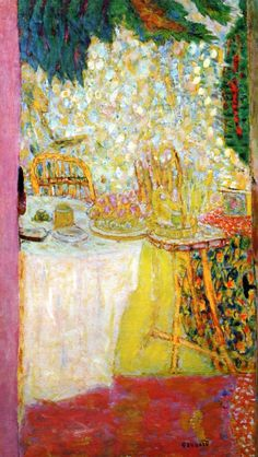 The Open Door Pierre Bonnard - circa 1937. Marshall introduced me to this artist's work and I find great pleasure in his work.
