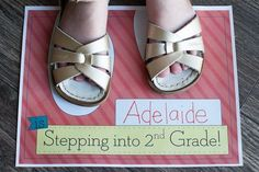 Two Steps Forward-Celebrating the 2nd day (or week!) of 2nd Grade