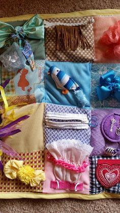 Alzheimer/Dementia Fidget Blanket