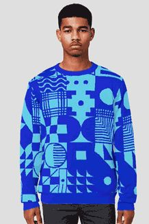 Print on everything for knitwear. Oh the possibilities!