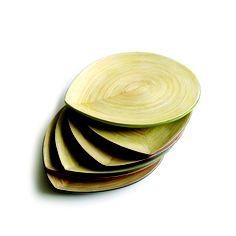 EKOBO Handmade combines modern aesthetics with local craftsmanship to sustain artisanal bamboo communities in Vietnam. Small Dinner Plates, Friendship Symbols, Modern Aesthetics, Ceviche, Fibre, Color Pop, Colour, Exterior Design, Tapas