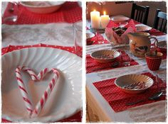 Joulupuurolla Table Settings, Container, Food, Essen, Place Settings, Meals, Yemek, Eten, Tablescapes