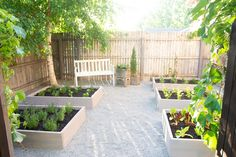Raised Herb Garden: An Outdoor Space Makeover Raised Herb Garden, Outdoor Chairs, Outdoor Decor, Outdoor Ideas, Cool Diy Projects, Garden Projects, Garden Boxes, Houseplants, Outdoor Living