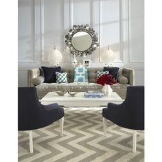 johnathan adler | Decorating with colour - jonathan-adler rug via myLusciousLife blog ...